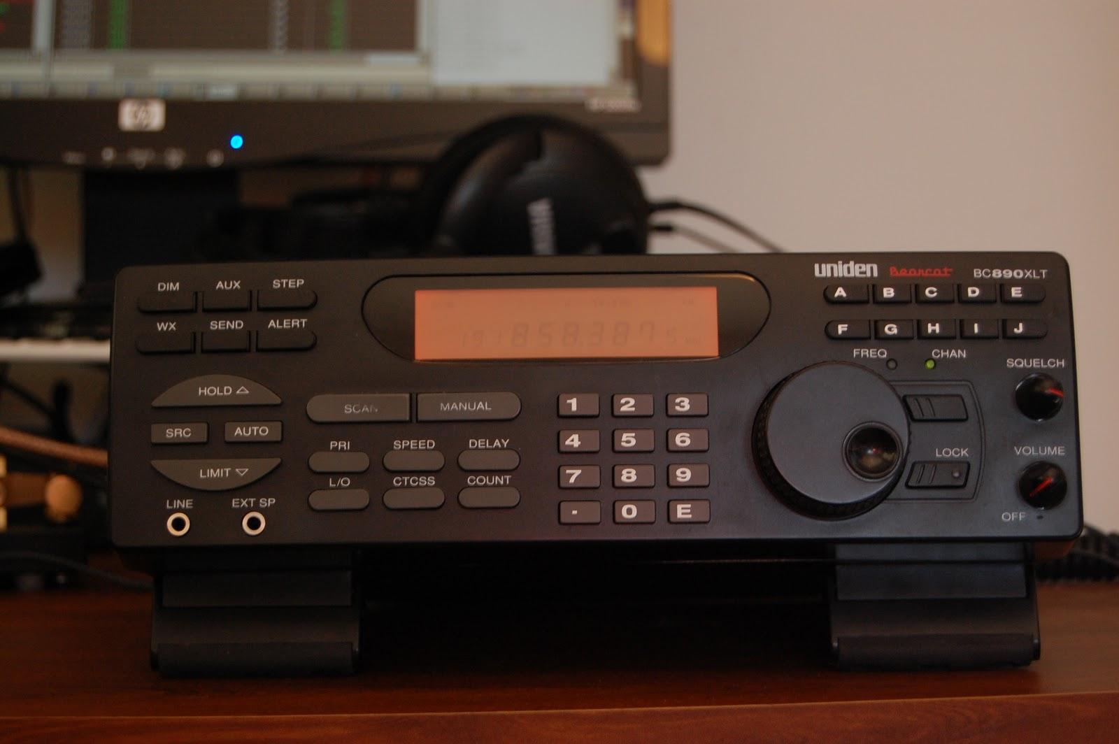 Utah Radio: Uniden BC890XLT Discriminator Tap