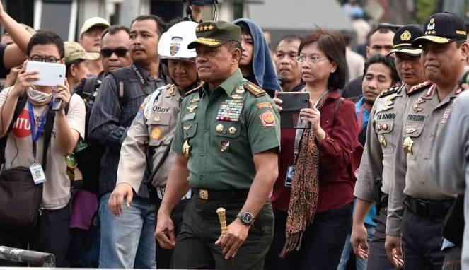 Panglima TNI Gatot Nurmantyo : Saya Lebih Baik Jadi Tumbal Bhinneka Tunggal Ika - Commando