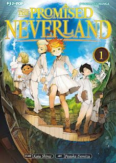 The promised neverland recensione www.libriandlego.blogspot.com