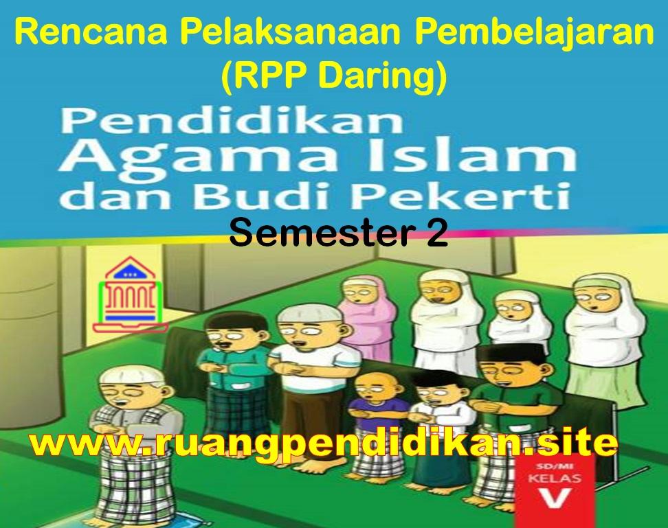 RPP Daring PAI Semester 2 Kelas 5