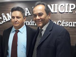 Suplente de vereador 'Inácio mototaxi' assume mandato no Legislativo Picuiense