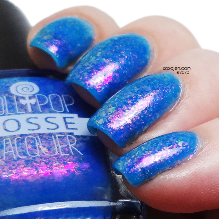 xoxoJen's swatch of Lollipop Posse Lacquer Shivering Down Your Spine