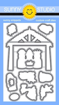 Sunny Studio Stamps Holy Night Metal Cutting Dies