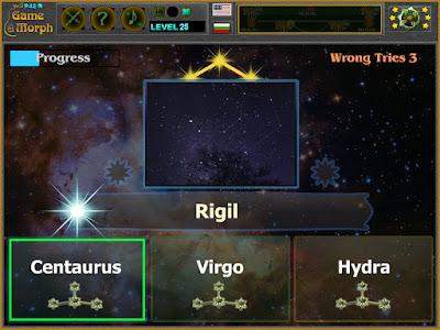 Constellations Quiz