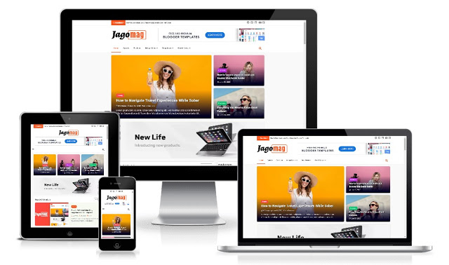 Template Blogger JagoMag The Ultimate Magazine