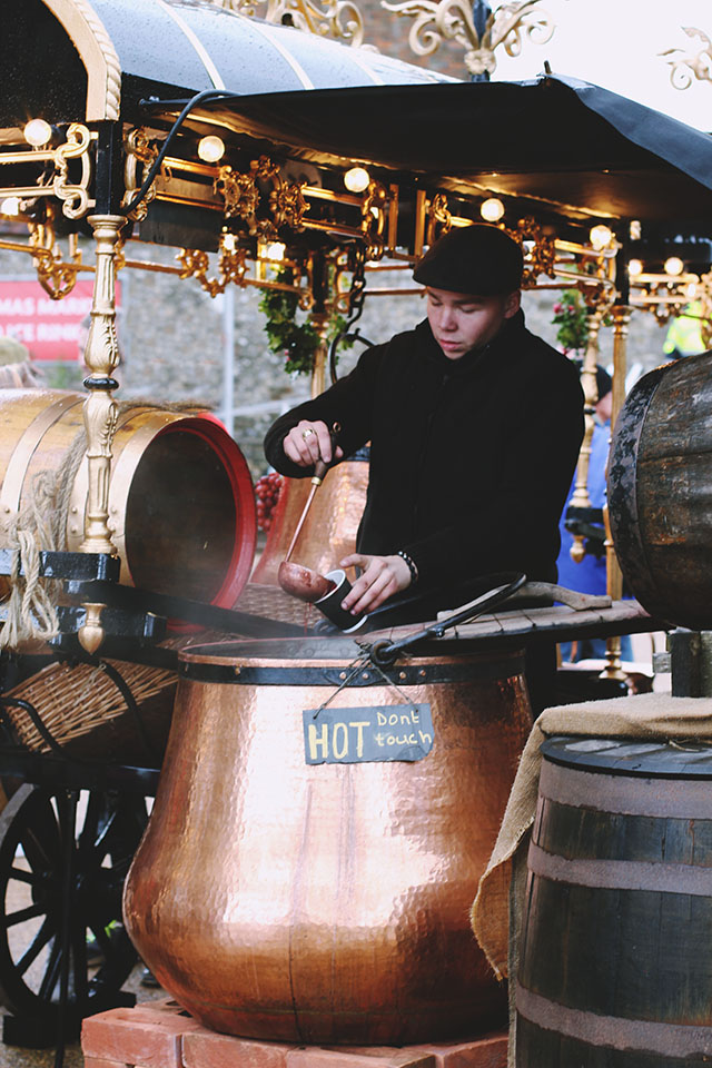 Mulled wine uk christmas market