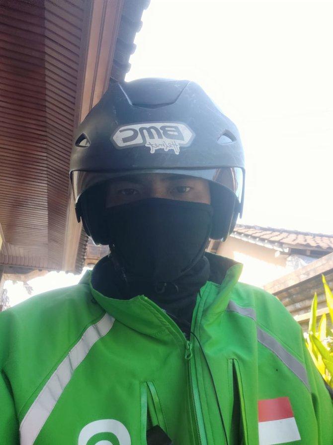 Driver Ojek Online di Denpasar Ikhlas Tempuh 40 Km, Antar Penumpang Tak Punya Uang