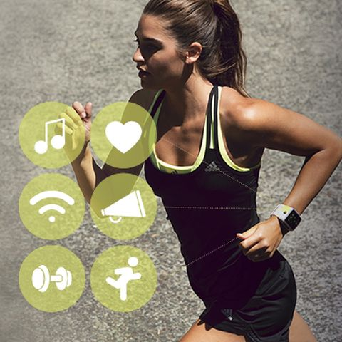 adidas smart run fitness watch
