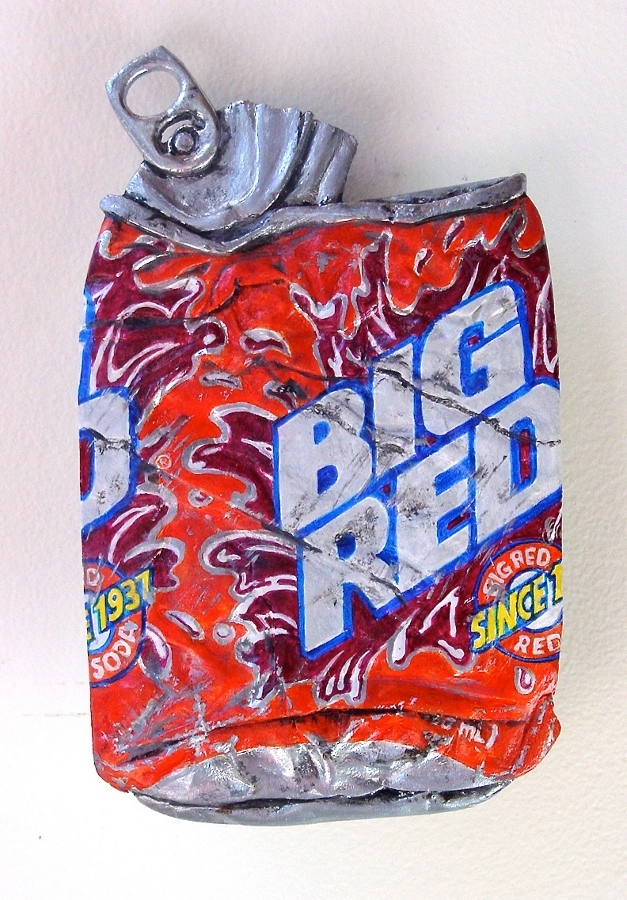 04-Big-Red-Tom-Pfannerstill-Hyper-Realistic-Paintings-Sculptures-From-the-Street-www-designstack-co