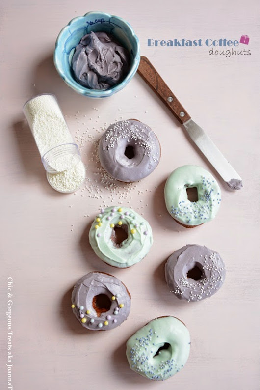 Chic & Gorgeous Treats: Breakfast Coffee Doughnuts