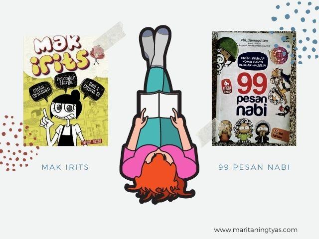 Komik Mak Irits dan 99 Pesan Nabi