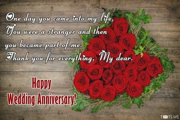 Happy anniversary to my husband with wishes quotes and messages