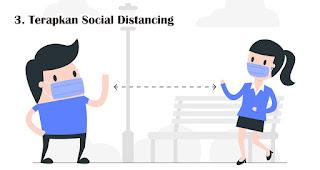 Terapkan Social Distancing Agar Tidak Terinfeksi Virus Corona