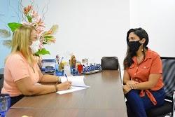 Prefeita de Guadalupe busca aquisição de cestas básicas junto ao Governo Federal