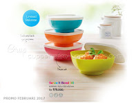 Serve It Bowl Tupperware Promo Februari 2017