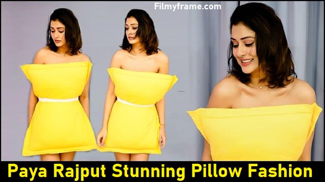Payal Rajput stunning dress in Pillow  Filmyframe
