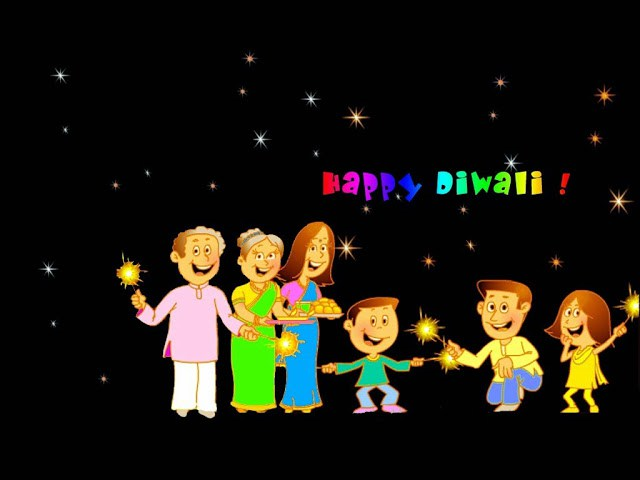 Happy Diwali Crackers Images Animated