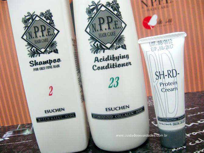 Shampoo e Acidificante NPPE