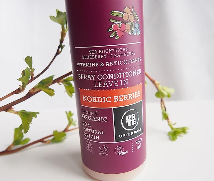 Urtekram Nordic Berries jätettävä hoitoaine