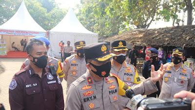 Wakapolda Banten : Masyarakat di Luar Banten Dilarang Berwisata ke Banten