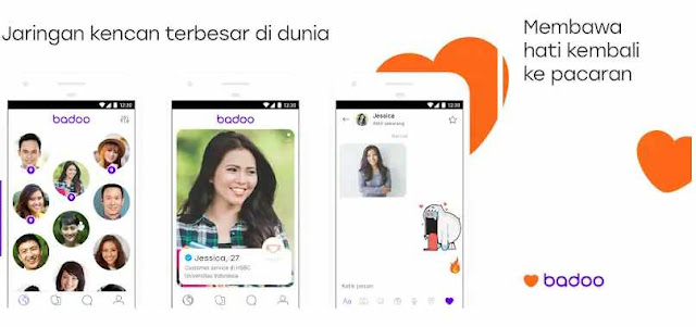 Aplikasi Badoo – Chat dan Dating Gratis