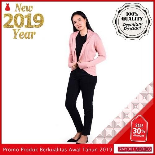RMY049P29 Pink By Jeje Cardigan Keren Rajut Trendy BMGShop