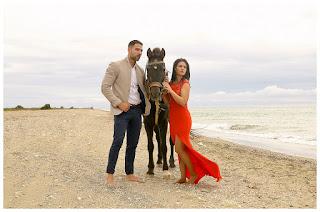 Sesión Pre-boda -  Playa de Almerimar - Almería