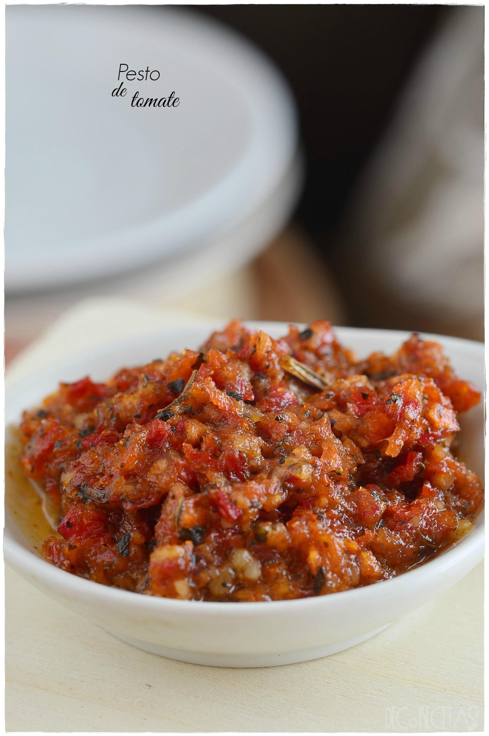 Salsas Pesto: como hacer salsa al pesto verde y pesto rojo