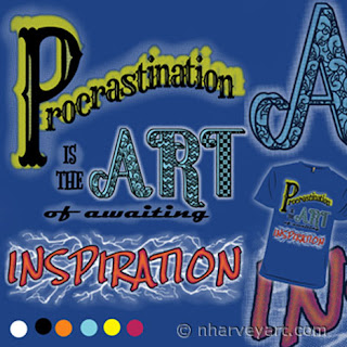 Procrastination is the Art of Awaiting Inspiration Submission