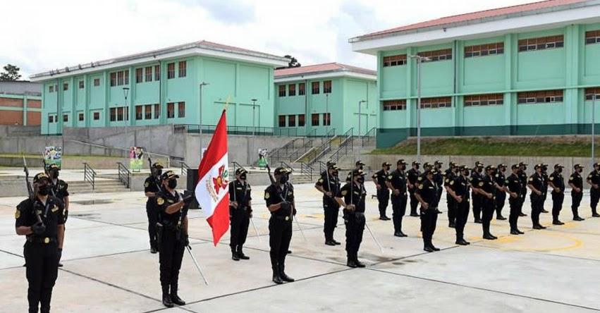 PNP: Inauguran moderna infraestructura de la Escuela de Suboficiales de la Policía Nacional del Perú en Tarapoto