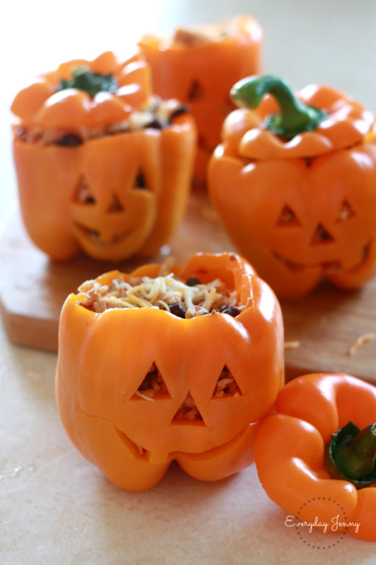 stuffed pumpkin peppers