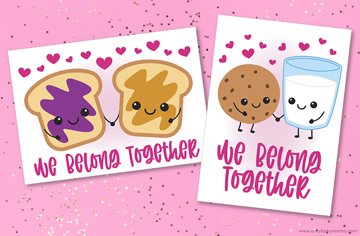 """We Belong Together"" Valentine Cards"