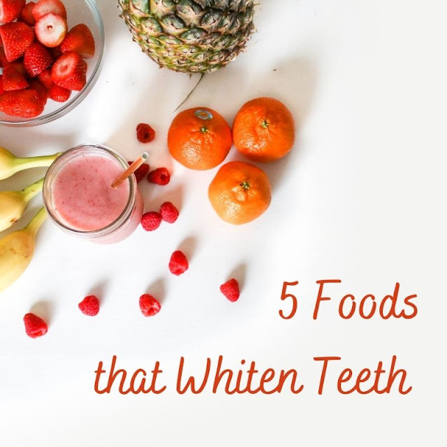 5 Foods that Whiten Teeth