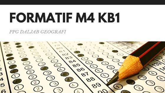 Soal dan Jawaban Tes Formatif Modul 4 KB 1