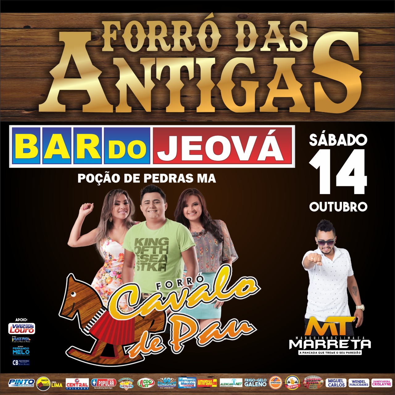 Forró das Antigas no Bar do Jeová
