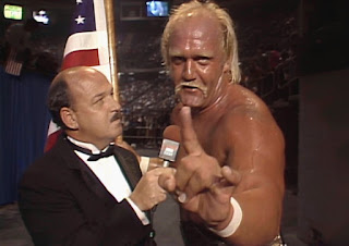 WWE / WWF Saturday Night's Main Event 2 - Hulk Hogan is interviewed by Mean Gene Okerlund