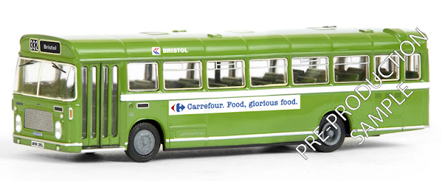 Exclusive First Editions: 25213 - Bristol RELL Bus - Bristol N.B.C.  Registration number MHW 285L, fleet number BH 1325. Operates 332 to Bristol. Scheduled for an April release RRP £34.50