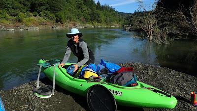 whitewater kayak self support