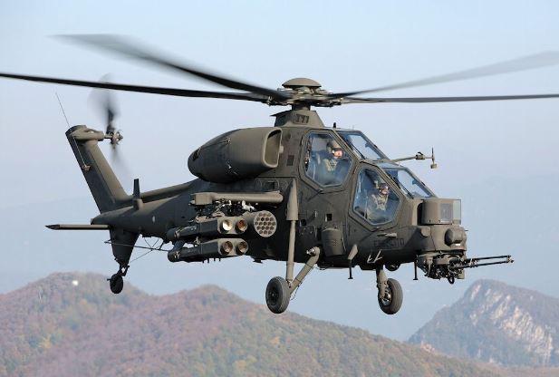 AgustaWestland AW129 Mangusta helicopter