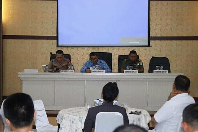 Rakor Forkopimda Kabupaten Sukabumi Bahas 4 Program Strategis
