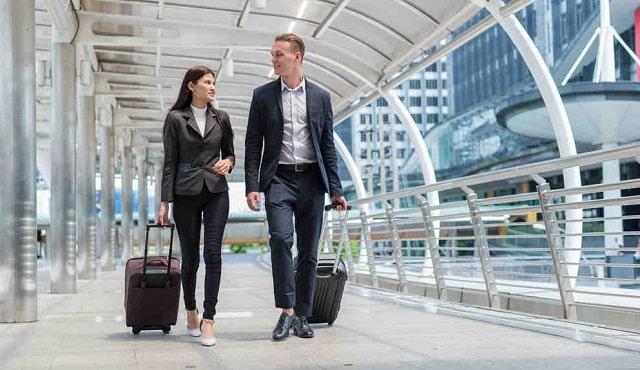 business travel 101 work flight trip planning