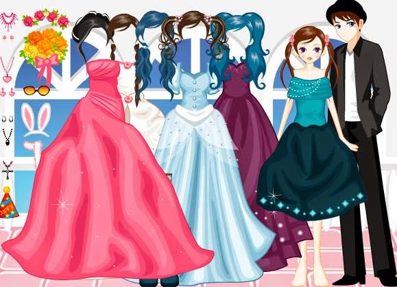 العاب تلبيس العرائس