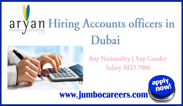 urgent officer jobs in Dubai, current vacancies in Gulf countries,