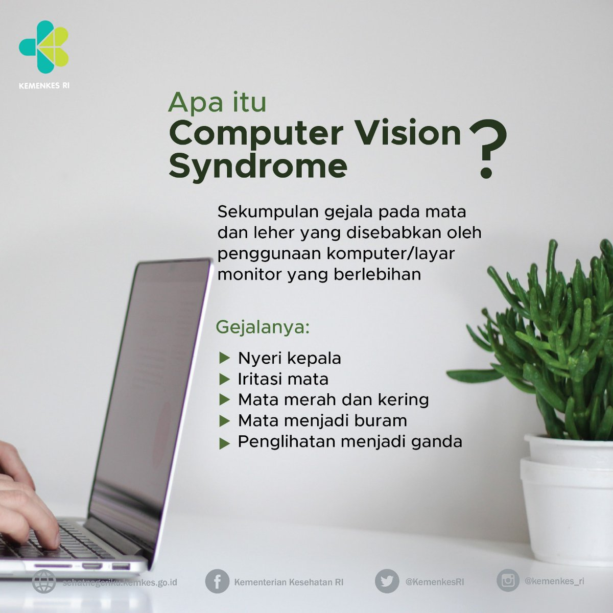 Apa Itu Computer Vision Syndrome Cvs