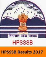 HPSSSB Results