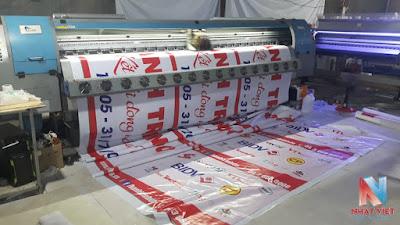 In Băng Rôn BIDV chương trình hiến máu nhân đạo