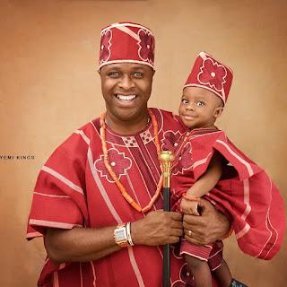 Yoruba actor Femi Adebayo family photos