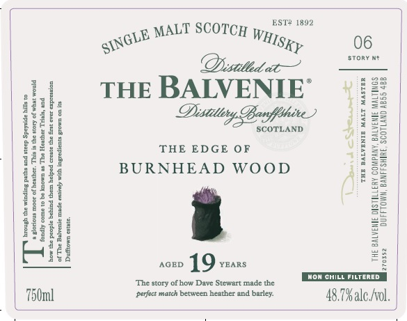 Rumour: The Balvenie The Edge of Burnhead Wood 19YO