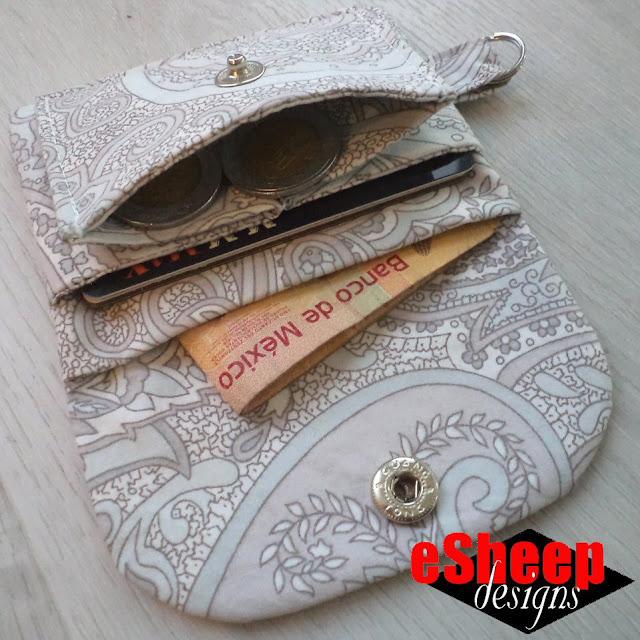 Asaco's Craft Memo Minimalist Wallet crafted by eSheep Designs