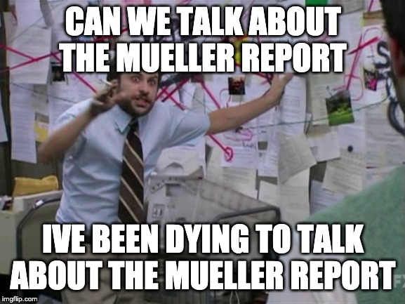 Mueller Report Volume 1: Network Analysis